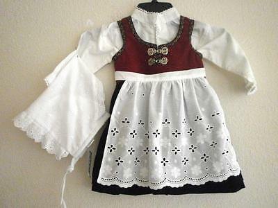 6-9 mo EU74  EXCEPTIONAL STYLISH NORWEGIAN  BABY BUNAD & KYSE FROM NORWAY