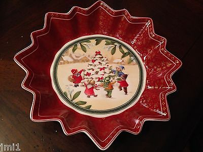 Villeroy & Boch TOY'S FANTASY Large Bowl:  Christmas Tree   #3767