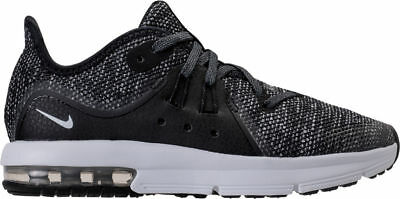 uk availability 66fc0 81b0e PS Nike Air Max Sequent 3 Running Black White Dark Grey Anthracite AO0554