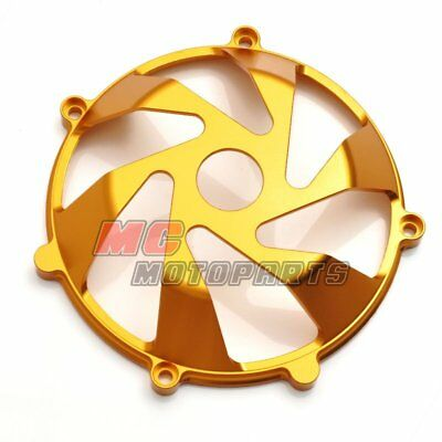 Gold For Ducati Billet Clutch Cover For Multistrada 1000 1100 DS ST2 ST4 S CC15