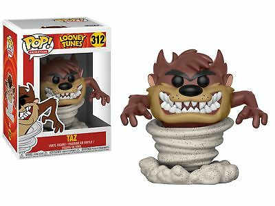 Looney Tunes Tasmanian Devil Tornado Taz Vinyl POP! Figure Toy #312 FUNKO SEALED