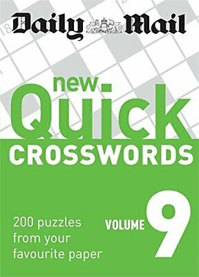 Daily Mail: New Quick Crosswords 9 (The Daily Mail Puzzle Books) Paperback Book