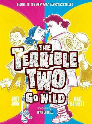 The Terrible Two Go Wild by Jory John (English) Hardcover Book Free Shipping!