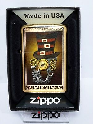 "Zippo  ""INDUSTRIAL MACHINER"" - Brass brushed - NEU & ovp - 1143"
