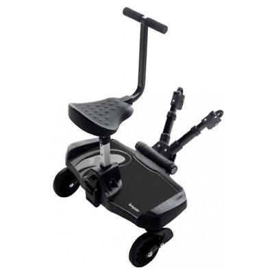 Bumprider Stroller Board (Black) - Allows An Older Child To Hitch A Ride