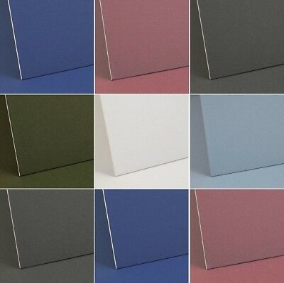 Dalton Manor Mount Board Large A1 /a2 / A3 Sizes Thick 1250 Mc Choice Of Colours