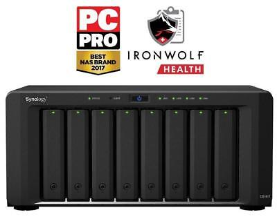 Synology DiskStation DS1817-48TB-IW powerful 8-bay 48TB(8x6TB Seagate IronWolf)