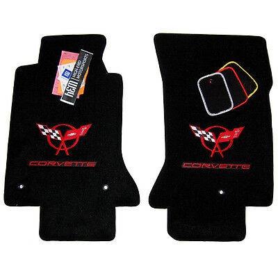Chevrolet C5 Corvette Floor Mats - Yellow - Red - Silver - Custom Fit - 1997-04