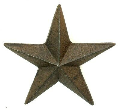 CAST IRON Large Nail Star  Set Of 12 Western Wall  DECOR  CRAFTS