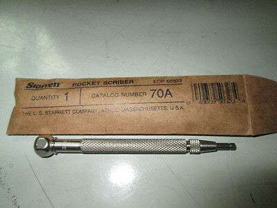 L.s. Starrett 70A Pocket Scriber New In The Package