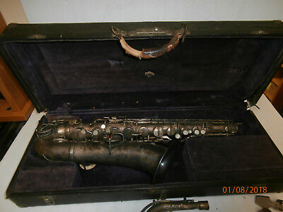 Vintage 1923 C.G. Conn Saxophone with Hard Case