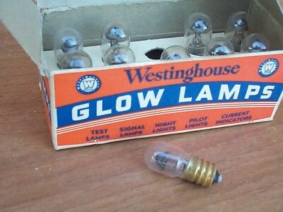 1x NE- 45 Glow Lamps Neon for TUBE TESTER TV7A/U - provavalvole RADIO SURPLUS