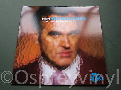 "Morrissey The Smiths First of the Gang To Die Unplayed UK 7"" single Mint New Stk"