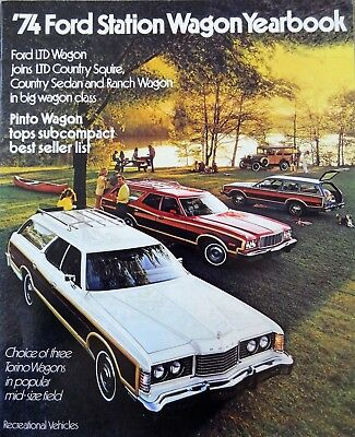 1974 Ford Station Wagon Sales Brochure