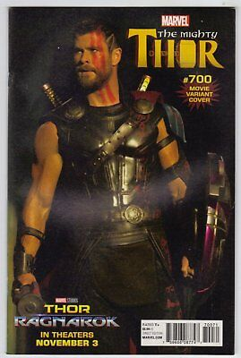 Mighty Thor #700 Movie Photo Variant Cover Comic Book