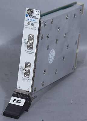 National Instruments PXI-5651 RF Analog Signal Generator 500 kHz - 3.3 GHz