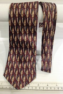 Cocktail Collection Colors Silk Mens Neck Tie Brown Design-L21