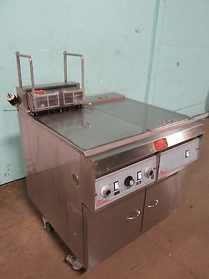 """""""PITCO FRIALATOR"""" H.D. COMMERCIAL ELECTRIC FRYER,w/AUTO LIFT & FILTRATION SYSTEM"""