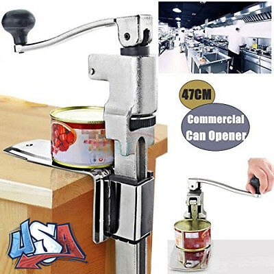 "13"" Large Heavy-Duty Commercial Kitchen Restaurant Food Can Tin Opener Table Big"