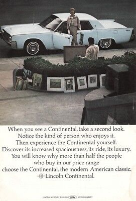 Ford Lincoln Continental 1960's - Vintage Ads # 206