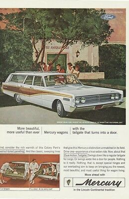 Ford Mercury Wagon 1970's Dual Action Tailgates - Vintage Ads # 413