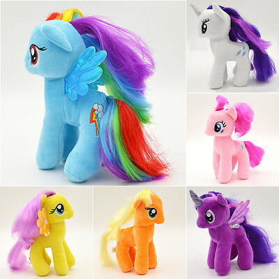 My Little Pony Plush Stuffed Doll Unicon Princess Horse Figures Kids Toys Gift