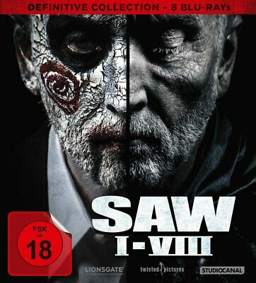 SAW I-VIII (1+2+3+4+5+6+7+8) - Definitive Collection # 8-BLU-RAY-NEU