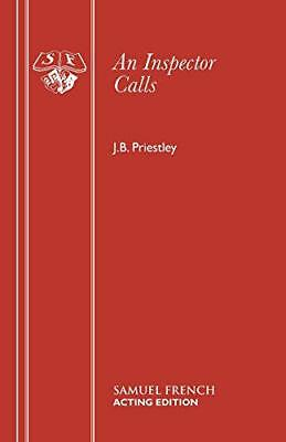 An Inspector Calls: A Play (Acting Edition) by J. B. Priestley | Paperback Book