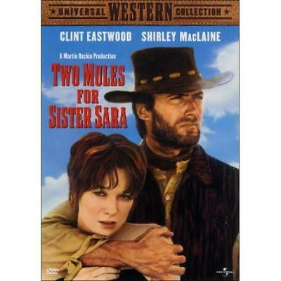 Two Mules for Sister Sara - Clint Eastwood - New Sealed DVD