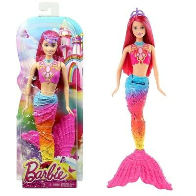 Barbie - Mermaid Doll - Rainbow Princess Fairytale