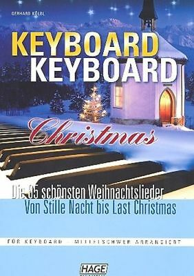 Edition Hage Keyboard Keyboard Christmas - mittelschwer arrangiert