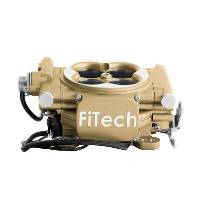 FiTech Fuel Injection 30005 Easy Street EFI 600HP Throttle Body System Gold