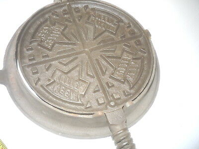 Old Antique  Keen Kutter  Simmons  Waffle Iron Kitchen Tool