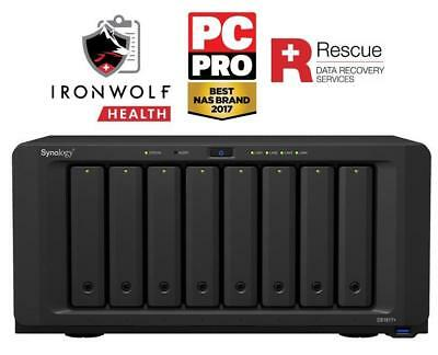 Synology DiskStation DS1817+ (8GB)/48TB-IW Pro 8-bay 48TB(8x6TB Seagate IronWolf