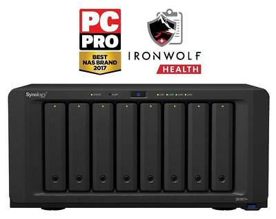 Synology DiskStation DS1817+ (8GB)/48TB-IW 8-bay 48TB(8x6TB Seagate IronWolf)