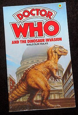 Doctor Who and the Dinosaur Invasion novelisation 1984 edition by Malcolm Hulke