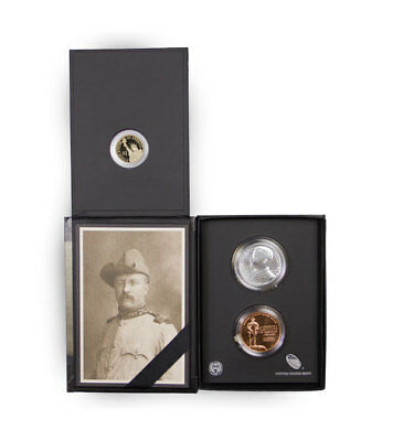 2013 Theodore Roosevelt Coin and Chronicles Set in Original Govt Pckg SKU33442
