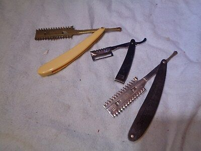 Antique Pair of Hand Hair Trimmers Vintage Barber's Barbershop