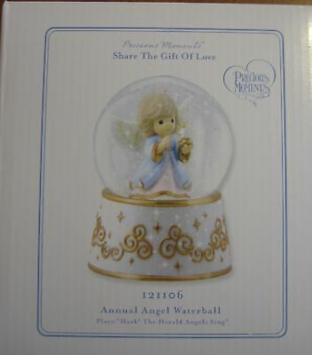 Precious Moments Annual Angel Waterball Music Box 2012 (Hark the Herald Angels