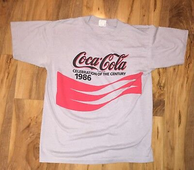 VTG 1987 80s COCA-COLA Selec-T Shirt Thin Large Nice!