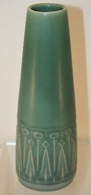Rookwood Pottery 1911 Arts and Crafts Vase Shape 1813 Molded Floral Design