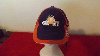 Perth Glory Offical Rbk Cap Like New With Tag Ideal Gift  Adult Size