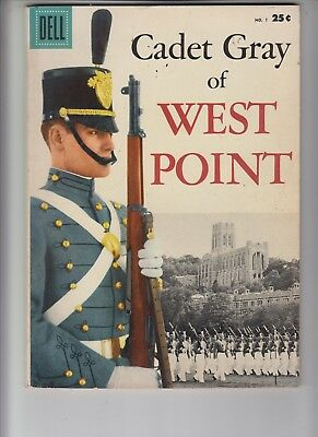 Cadet Gray of WEST POINT #1 Dell Giant 1958 Fine