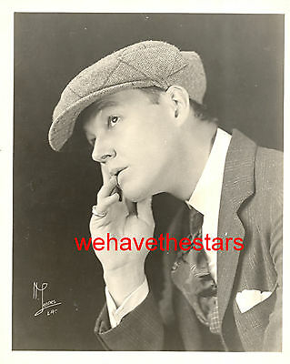 Vintage Charles Ray QUITE HANDSOME 20s Publicity Portrait by LENNES