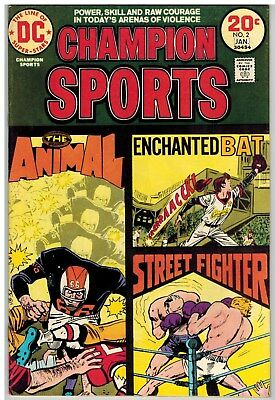 Champion Sports #2 1974 Dc Bronze Age Nice!