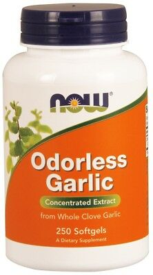 Odorless Garlic Now Foods 250 Softgel