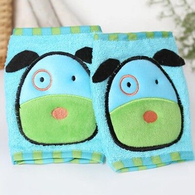Baby Cotton Crawling Protector Knee Pads Kids Cartoon Thick Leg Warmers Color#02