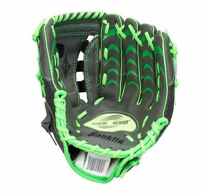 "Franklin Teeball Fielding Glove - Infinite Web®, 10,5"" grün, Baseball, Handschuh"