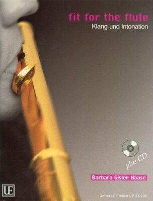 Universal Edition Fit for the Flute - Klang und Intonation - mit CD