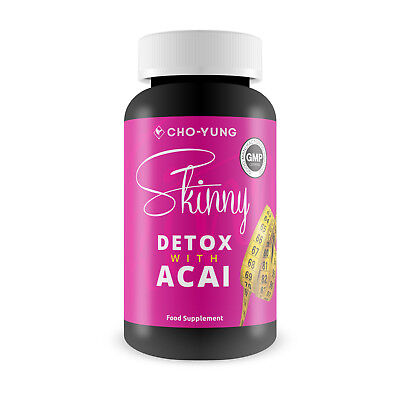 Cho-Yung Skinny Detox With Acai Berry & Glucomannan Weight Loss Food Supplement